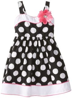 Sweet Heart Rose Little Girls' Dot Printed Sundress, Black/White, 4 Sweet Heart Rose http://www.amazon.com/dp/B00IOIIMSC/ref=cm_sw_r_pi_dp_yCIjub1DAYQKY