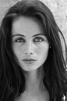 Emmanuelle Béart (born 14 August 1963) Film actress from Gassin, France. Photograph by Moune Jamet.