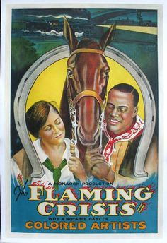 FLAMING CRISIS, THE Movie Poster (1924)