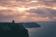 Cliffs of Moher by solarfractal