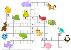 Animals Crossword Puzzle | Free Printable Puzzle Games
