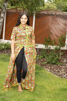 Tsinga Kente Print Top/Dress Source by khanyidoll African Maxi Dresses, African Attire, Women's Fashion Dresses, Casual Dresses, Wedding Dress With Pockets, Dress Pockets, African Tops, Cool Summer Outfits, Dress Robes