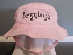 Personalized Baby Sun Hat for Boy or Girl  by MakeItPersonalMonogm, $15.00