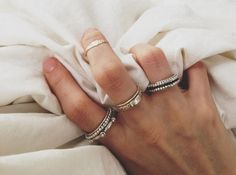 Love the rings and placement