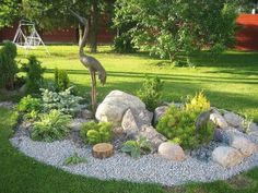 15 awesome front yard rock garden landscaping ideas