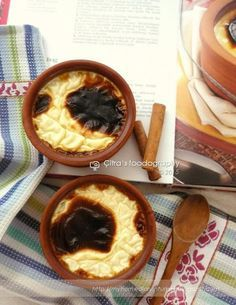 Citra's Home Diary: Damla Sakızlı Fırın Sütlaç (Turkish Rice Pudding with mastic gum)