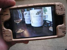 SANTA please.. Bring me this... CORK Smartphone Case...  wine Christmas WineLover