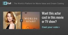 Tania Nolan as Victoria (Vicki) in Worlds Apart? Support this movie proposal or make your own on The IF List.