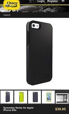 *Sold Out* Brand new OtterBox Symmetry iPhone 5/5s Case. Only $33.50. Check it out and share.