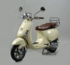 Vespa. An Italian design classic.