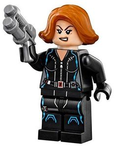 LEGO Marvel Super Heroes S. - Black Widow with Blaster Gun Features : LEGO Black Widow Minifigure Color : Size : Product dimensions : inches Product weight : pounds Avengers Film, Avengers Shield, Lego Marvel's Avengers, Ms Marvel, Black Widow Marvel, Dc Comics, Marvel Comics Superheroes, Clint Barton, Age Of Ultron