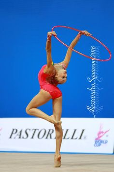 Olena Diachenko (Ukraine), junior, World Cup (Pesaro) 2016