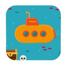 #NEW #iOS #APP Submarine Adventure Runner - Noor Mohammed