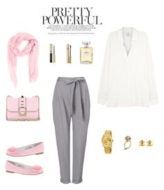 """pink boss"" by the-awesomeness ❤ liked on Polyvore featuring Rolex, Nina Kids, Vince, Kasun, Chanel, Dolce&Gabbana, Valentino, Phase Eight and M Missoni"