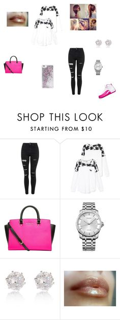 """""""Valentine's Day"""" by taviaaaaa on Polyvore featuring Topshop, Victoria's Secret, MICHAEL Michael Kors, Calvin Klein, River Island, Skinnydip, women's clothing, women, female and woman"""