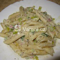Výborná omáčka na těstoviny, velmi rychlá a jednoduchá. Bon Appetit, Celery, Asparagus, Healthy Recipes, Healthy Food, Cabbage, Vitamins, Meat, Chicken