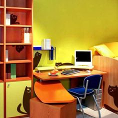 ♥OFC♥ 13 Colorful office | your favorite orange color shades ad add soft or juicy orange color ...