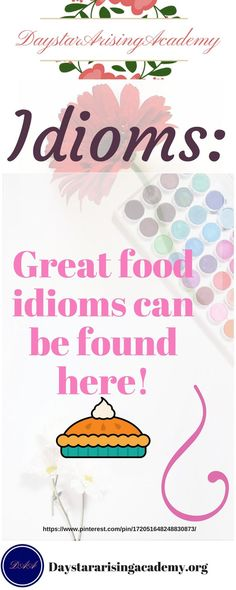 Great Food Idioms