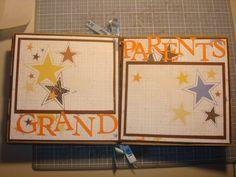boy birthday scrapbook pages   Baby Boy Brown Bag Scrapbook : Sherbear's Scrapbooking