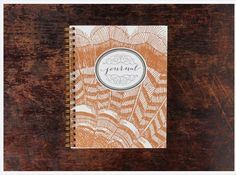 Bison Bookbinding & Letterpress Note Book: Turkey Feathers https://www.at-lotus.com/products/bison-bookbinding-letterpress-note-book-turkey-feathers