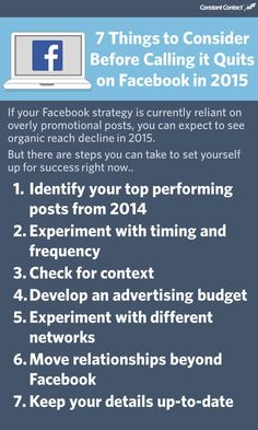 As we head into 2015, we'd love to hear what questions you have about Facebook and the changes that have taken place? Do you expect to do more with your Facebook marketing? Have you considered calling it quits? Have you faced any Facebook challenges in 2014? #SEO #LocalSEO #SearchEngineOptimization #Google #SEM #SMM #Marketing #SocialMarketing