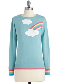 """Aw! This would be great for a Rainbow Dash inspired costume. """"Above and Beyond Sweater"""""""