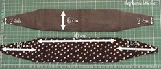Tuto - comment faire un bandeau pour les cheveux et le customiser avec Kisign…