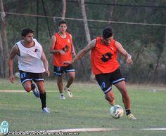 Entrenamiento previo al partido ante Cruz Azul Hidalgo.