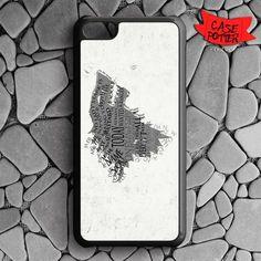 Game Of Thrones Stark Clan iPhone 5C Black Case