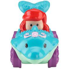 Fisher-Price Little People Disney Wheelies Vehicle, Ariel
