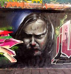 Grafitti in Eindhoven bij de fiets tunnel