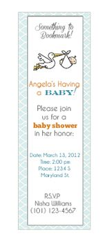 book baby shower invitation...i love the idea of creating a memory book for the baby with each page ready for the guests to decorate and add!!!