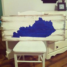 UK Wildcats sign, Kentucky Sign, University of Kentucky Pallet sign