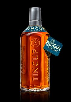 Tincup Colorado whiskey on The Packaging Design Blog. Designed by Stranger & Stranger