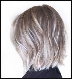 cool 10 Adorable Ash Blonde hairstyles to try // #Adorable #blonde ... | Einfache Frisuren