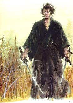 Shinmen Takezo. One of Takehiko Inoue's masterpiece!
