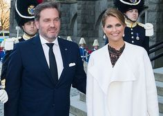 Swedish Royal Family attend a concert at Nordic Museum.  Princess Madeleine looks really great.  She is with her husband, Chris O'Neil