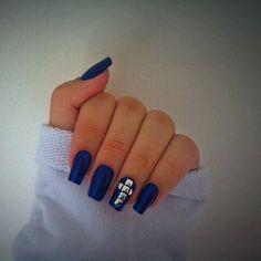 Esse azul ficou perfeito