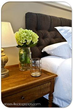 upholstered headboard how to