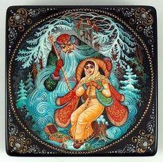 russian, folk, tale, snow maiden, father frost