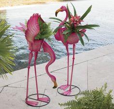 Flamingo Planter ~ $34.95 at seventhavenue.com