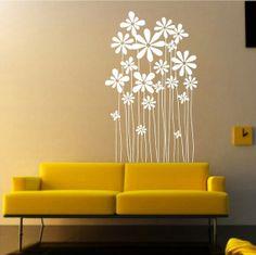 Vinyl Flower wall decals wall stickers flower decals by ChinStudio, $29.95