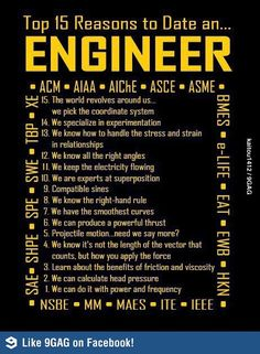 reasons to date an engineer
