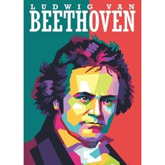 "Ludwig van Beethoven Art by @pensilkurva . baptised 17 December 1770 – 26 March 1827) was a German composer and pianist; his music is amongst the most performed of the classical musicrepertoire, and he is one of the most admired composers in the history of Western music. His works span the transition from the classical period to the romantic era in classical music. His career has conventionally been divided into early, middle, and late periods. The ""early"" period in which he forged his craft… Classical Period, Classical Music, 26 March, December, Pop Art Face, Composers, Career, German, Middle"
