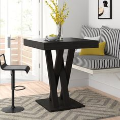 New Hodder Bar Height Dining Table by Zipcode Design. kitchen dining furniture sale from top store