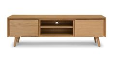 "Seno Oak 63"" Media Unit - Cabinets - Article 