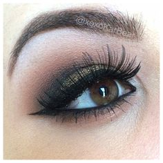 """""""Dark Utopia"""" by xoxokarbear using the Makeup Geek Corrupt, Mocha, and Frappe eyeshadows and Utopia pigment."""