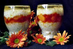10 deserturi la pahar, elegante aspectuoase si foarte usor de preparat - CAIETUL CU RETETE Fondant, Pillar Candles, Tiramisu, Deserts, Food And Drink, Pudding, Yummy Food, Cooking, Canning