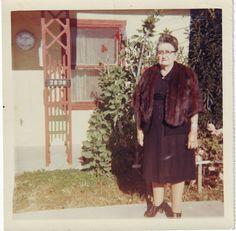 Vintage color snapshot-1968. Sorry you got stood up Inez
