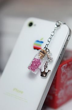 iPhone 5 Dust Plug Headphone Plug Charm by LuxeModernDesigns, $8.50